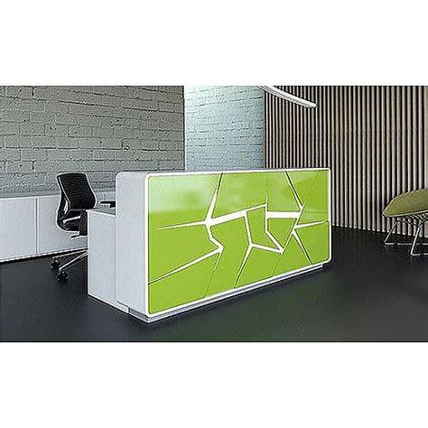 Illuminated Reception Desk Arctic Summer Modern Design Illuminated Reception Desk Lime Green White Rd44 Huntoffice Ie