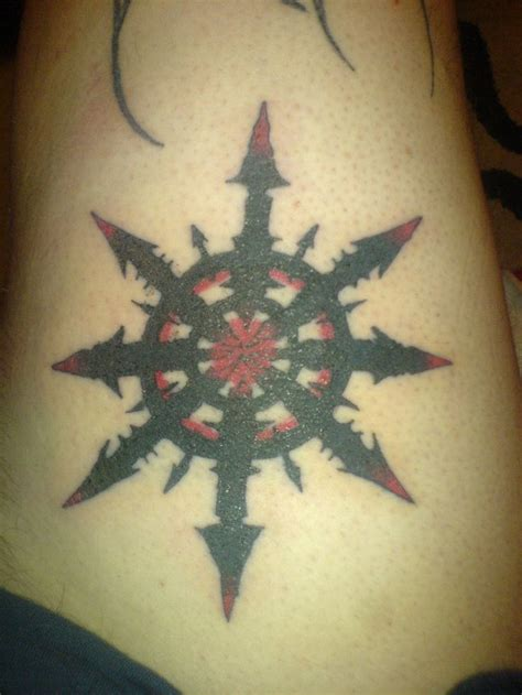 chaos star tattoo designs chaos by triaxe on deviantart s