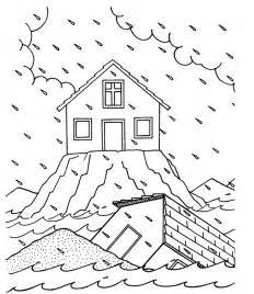 Wise Coloring Page wise and foolish builder coloring page coloring pages