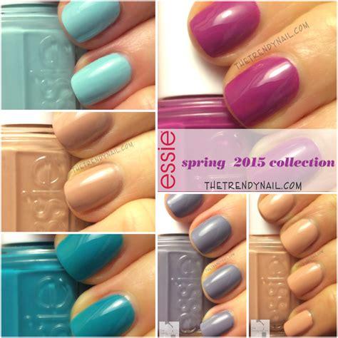 essie spring 2015 swatches swatches reviews essie spring 2015 collection