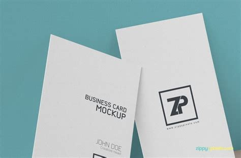 Free Psd Business Card Mockup Templates by 25 Free Vertical Business Card Mockups Psd Templates