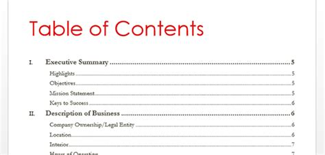 Table Of Contents On Word by How To Create Table Of Contents In Word 2013 Toc Office