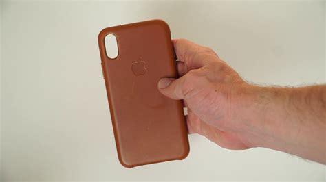 Apple Iphone X Leather apple iphone x leather unboxing impressions