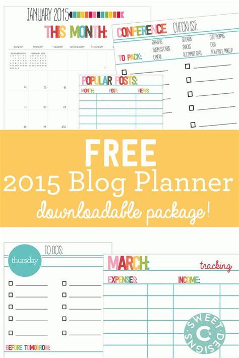 free printable goal planner 2015 free 2015 mega blog planner printable pack goals
