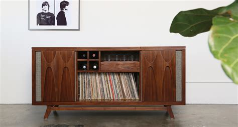 record player console     built