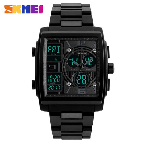 Skmei Jam Tangan Digital Dg1203 Murah skmei jam tangan analog digital sporty pria 1274 black jakartanotebook