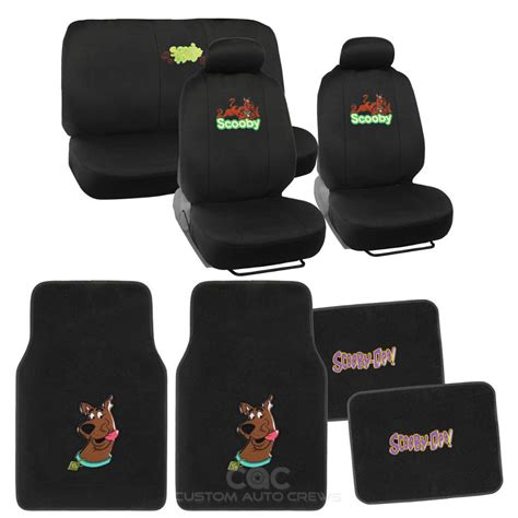 Cover Front Scoopy Original Ahm officially licensed scooby doo set seat cover floor