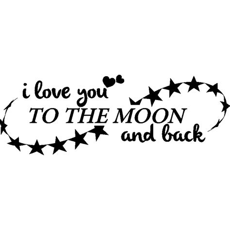 i love you to the moon and back tattoo back to stickers kamos sticker