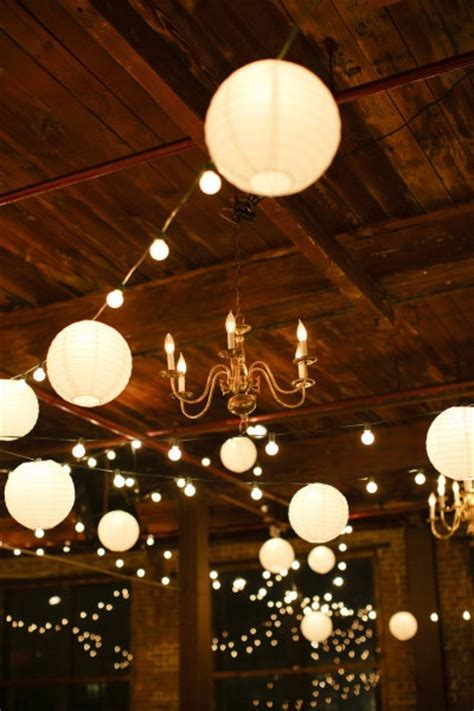 Metropolitan Building Wedding By Cly Creation Wedding White Paper Lantern String Lights