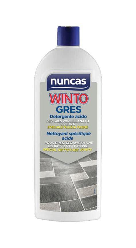 nuncas pavimenti winto gres 232 un detergente per gres porcellanato di