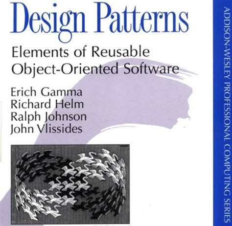 design pattern reusable software design patterns elements of reusable object orie by