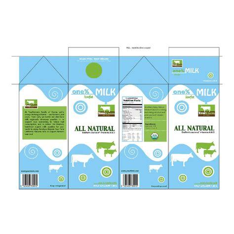 Wix Com Skimmed Milk Template And Miniatures Milk Box Template