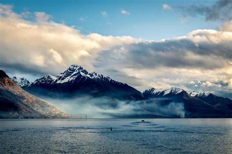 wallpaper sunlight landscape mountains sea lake