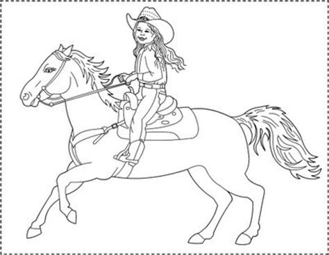 coloring pages of cowgirls and horses s free coloring pages the