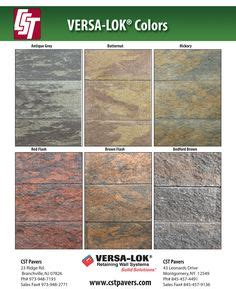 versa lok colors belgard versa lok chion brick stock colors