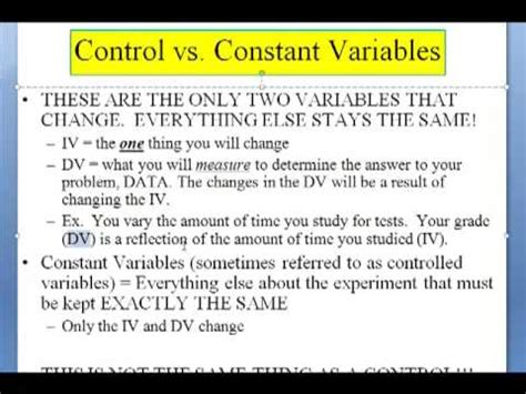design of experiment notes foundation notes experimental design youtube