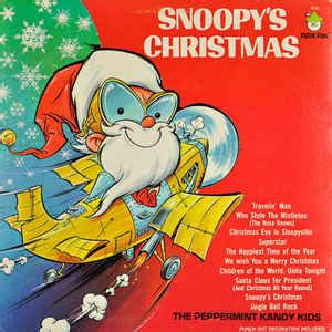 peppermint kandy kids snoopys christmas discogs