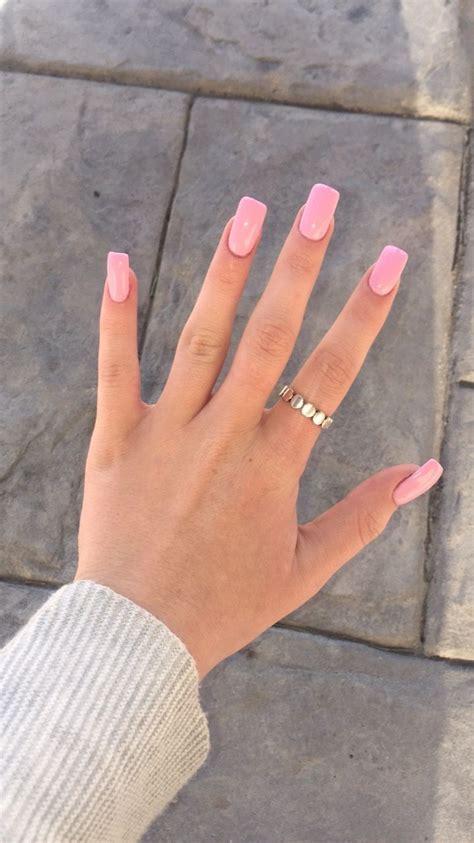 Acryl Nail by Pink Opi Square Acrylic Nails Nails