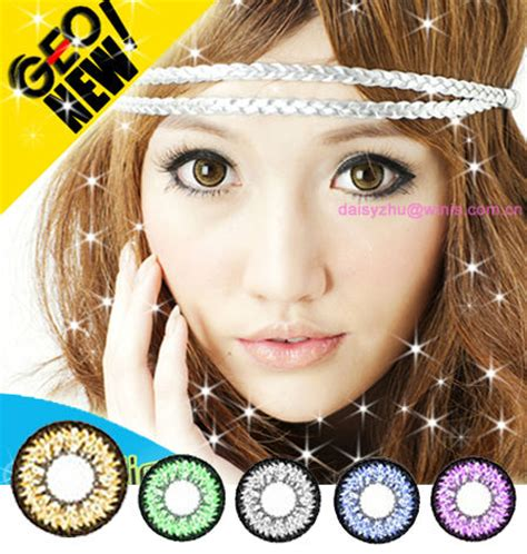 geo super nudy big eyes korea wholesale color contact lens