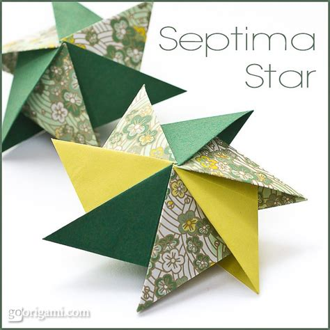 Origami Stat - deck the s diy origami septima