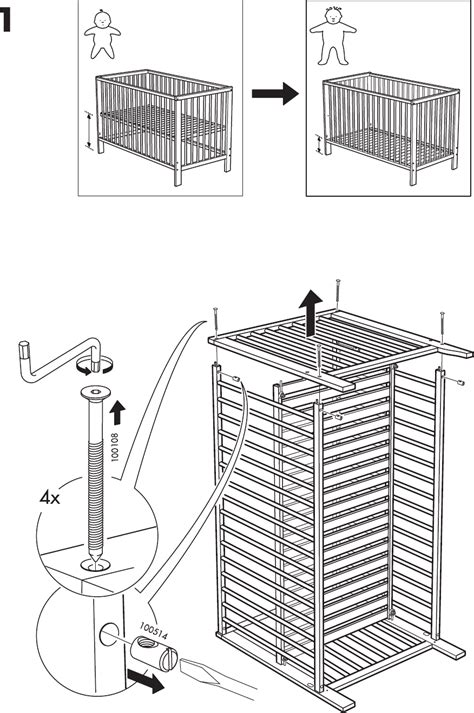 Morigeau Lepine Crib Assembly by Page 8 Of Crib Aa 240443 2 User Guide Manualsonline