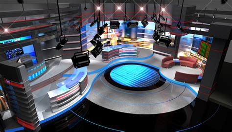 studio layout ian s studio news set designs by park place studio design build and