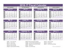 financial year calendar template 2016 2017 fiscal year printable calendar calendar