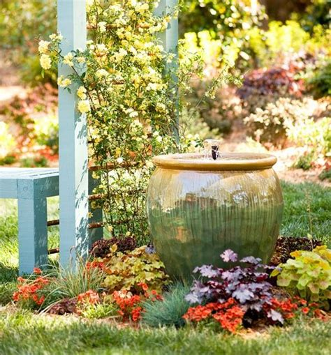 backyard fountains lowes diy garden fountain lowe s creative ideas garden