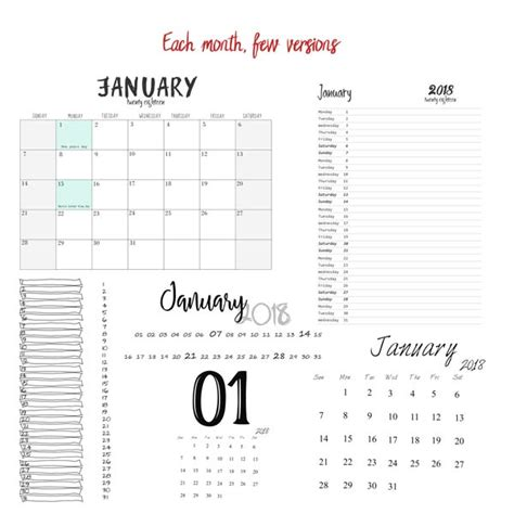 make your own calendars 2018 make your own calendar 2018 grids