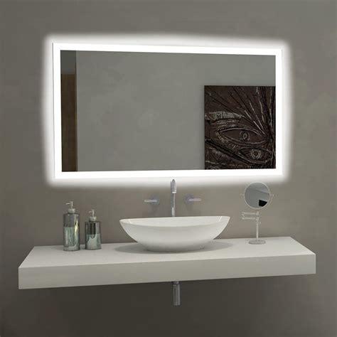 paris mirror rectangle bathroom mirror  led backlights