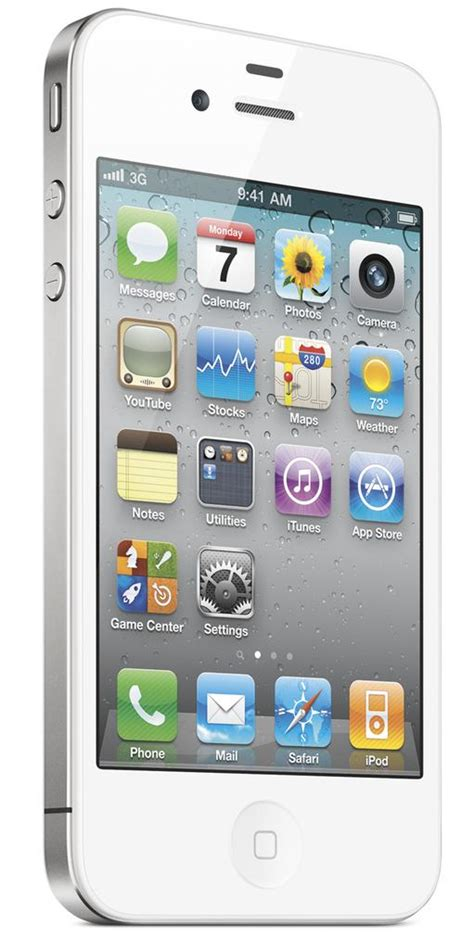 apple iphone  gb smartphone  mobile white good