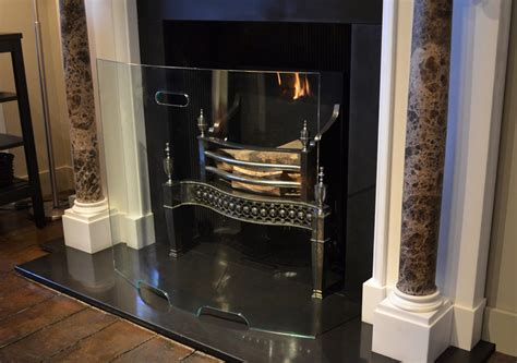 curved glass screen the fireplace company