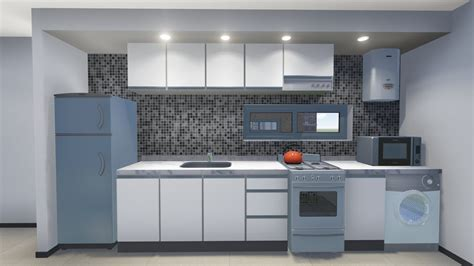 diseno de cocinas autocad lumionbloques editables