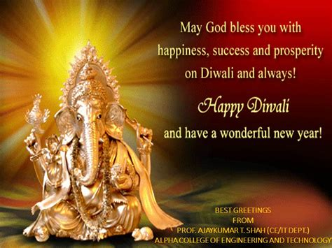 happy diwali and new year greetings happy diwali and happy new year to all my friends prof