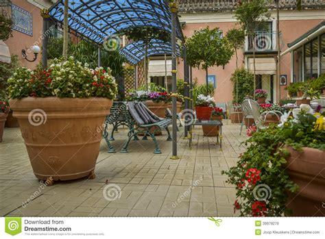 Home Design 3d Outdoor Free Download italian terrace garden stock photo image 39979279