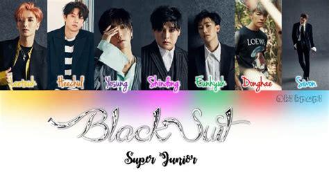 black suit super junior mp3 super junior black suit color coded han rom eng lyrics