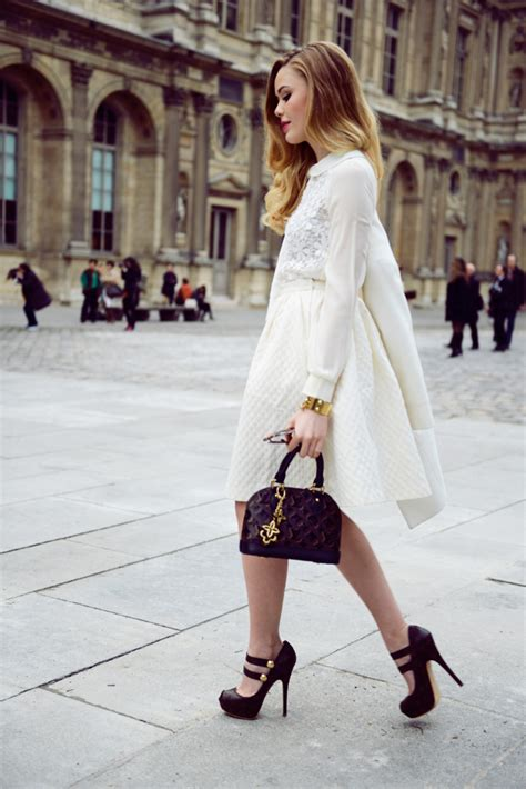 how to wear the winter white fashion glam radar