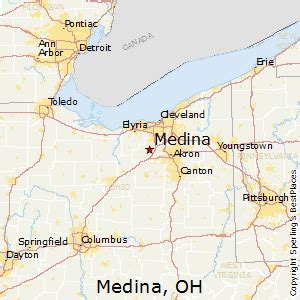 ohio to florida map best places to live in medina ohio