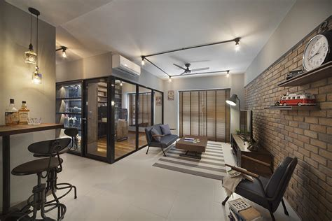 hdb home decor design 9 edgy open concept designs in trendy hdb flat homes
