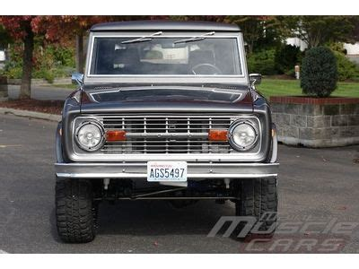1970 ford bronco cars trucks by owner vehicle   2017, 2018