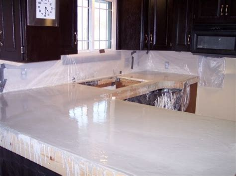 Kitchen Countertop Ideas On A Budget Concrete Counters On Budget For The Home