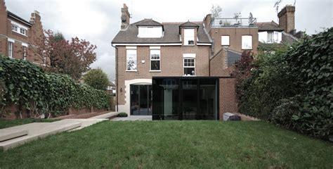 Rear Modern Mansion Extension Garden Design by LBMV