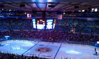 section 213 madison square garden madison square garden section 213 new york rangers