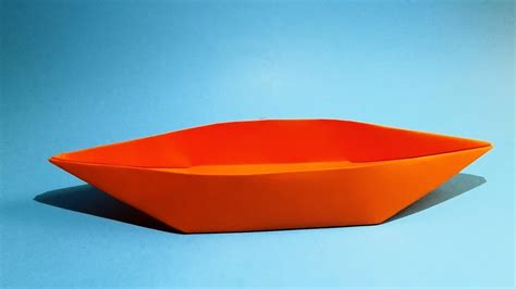 Origami Paper Boat That Floats - how to make a paper boat that floats origami boat my