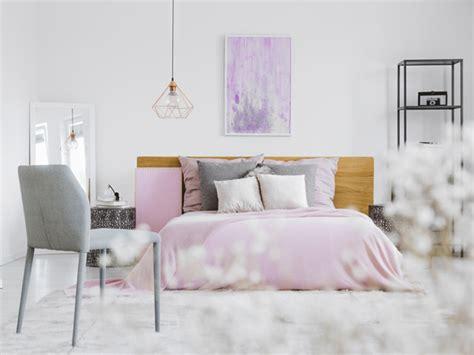 schlafzimmer violett violette w 228 nde und dekoration ideen tipps