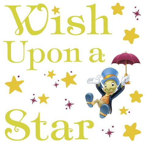 Wish Upon A by Pinocchio Wish Upon A Wall Decals Rosenberryrooms