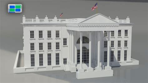 white house printing white house model 28 images the white house 3d model