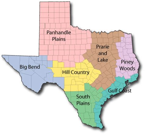texas state park maps list of parks located in texas