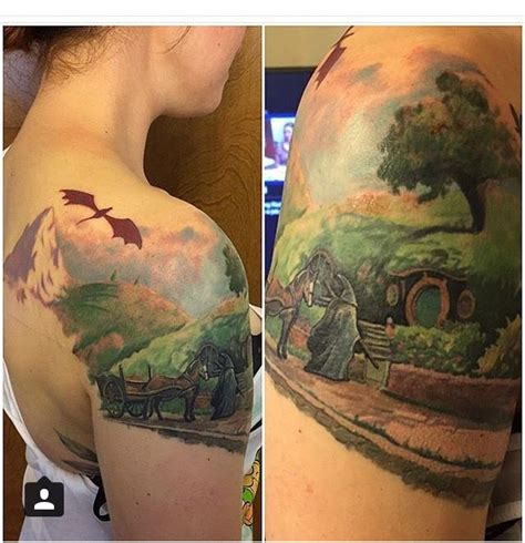hobbit tattoo best 25 hobbit ideas on tolkien