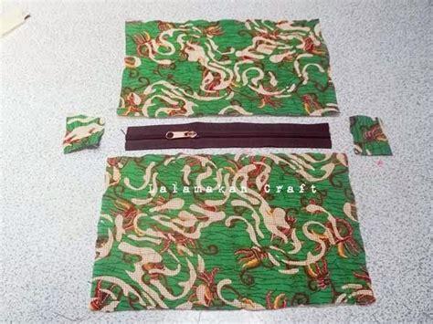 Kain Sisa Potongan 1 creativity tutorial membuat dompet kain dengan jahitan